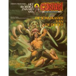 Conan album 11 – De schatkamer van de dood! 1e druk 1982