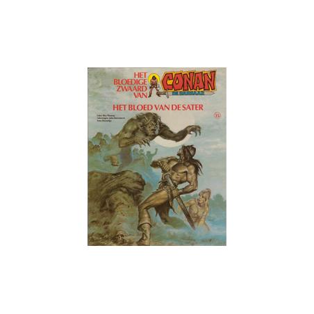 Conan album 15 – Het bloed van de Sater 1e druk 1983