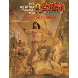 Conan album 16 – Conan de Bevrijder 1e druk 1983