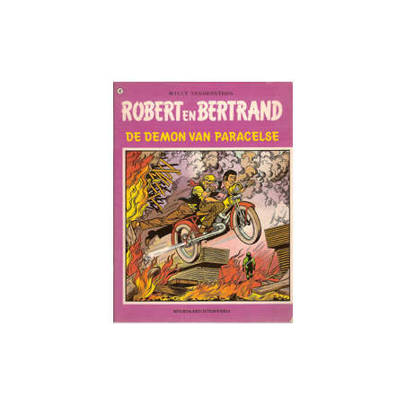 Robert en Bertrand 42 De Demon van Paracelse 1e druk 1981