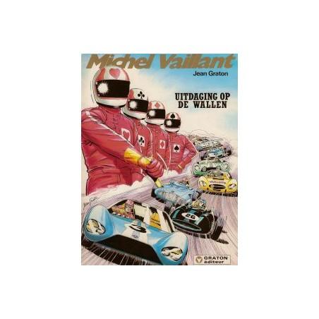 Michel Vaillant 50 Uitdaging op de wallen 1e druk 1988