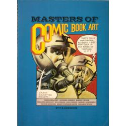 Masters of comic book art 1e druk 1978 Eisner, Wood, Corbe