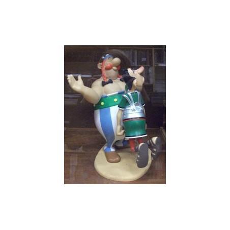 Asterix<br>beeld ASTST03601 Obelix slaat Romein