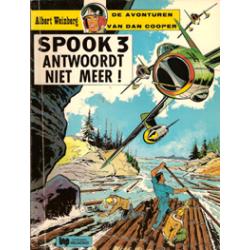 Dan Cooper<br>11 Spook 3 antwoordt  niet meer<br>1e druk Hlmnd