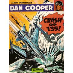 Dan Cooper<br>23 Crash op 135!<br>1e druk 1976 Lombard