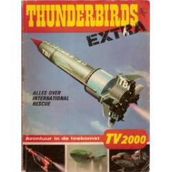 Thunderbirds Extra 01 Avonturen in de toekomst 1e druk 1966