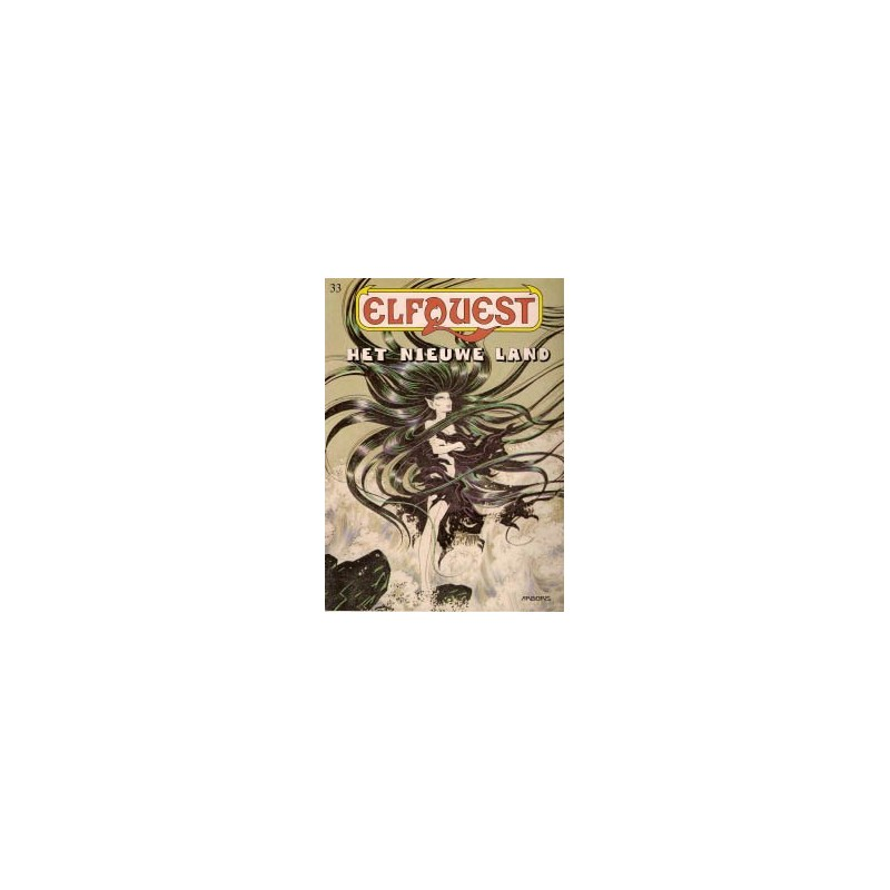Elfquest 33 Het nieuwe land 1e druk 1993