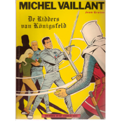 Michel Vaillant<br>12 Ridders van Konigsfeld<br>herdruk Helmond