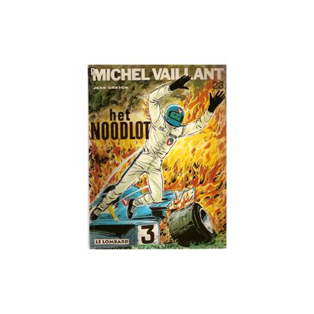 Michel Vaillant 23 Het noodlot herdruk Lombard