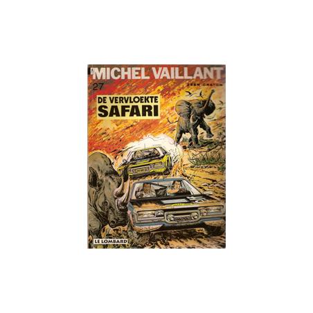 Michel Vaillant 27 De vervloekte safari herdruk Lombard
