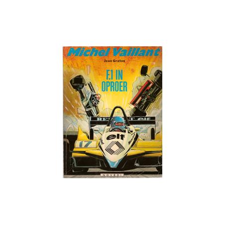 Michel Vaillant 40 F1 in oproer 1e druk 1982
