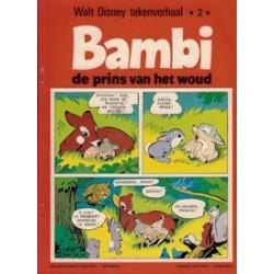 Walt Disney tekenverhaal 2#<br>01 Bambi de prins van het woud<br