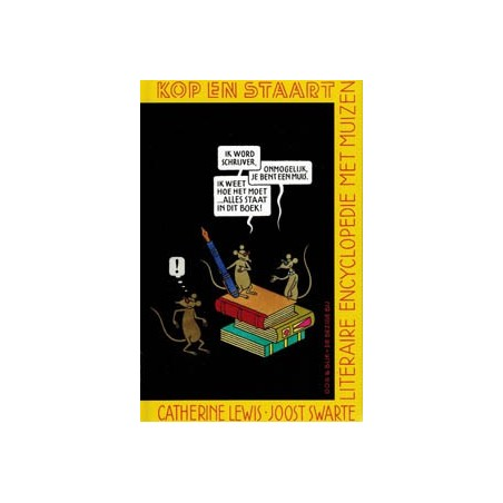 Swarte  strips Kop en staart HC literaire encyclopedie met muizen