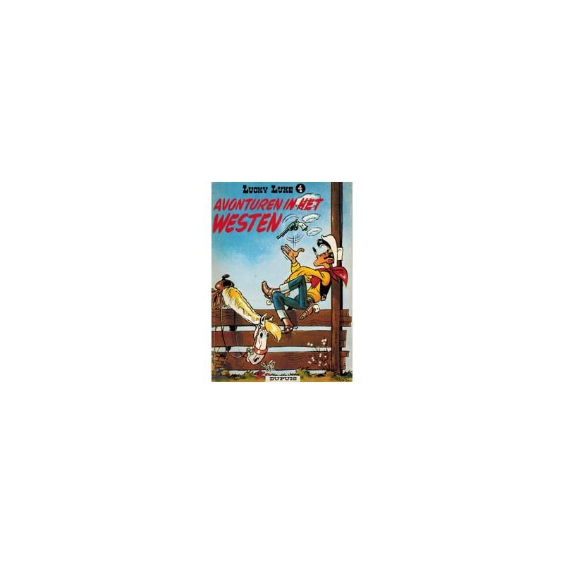 Lucky Luke 04 - Avonturen in het westen herdruk