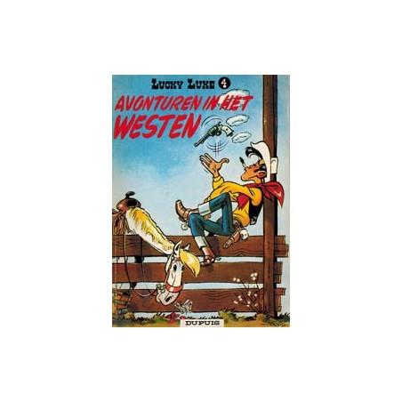 Lucky Luke<br>04 - Avonturen in het westen<br>herdruk