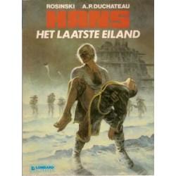 Hans<br>01 - Het laatste eiland<br>herdruk