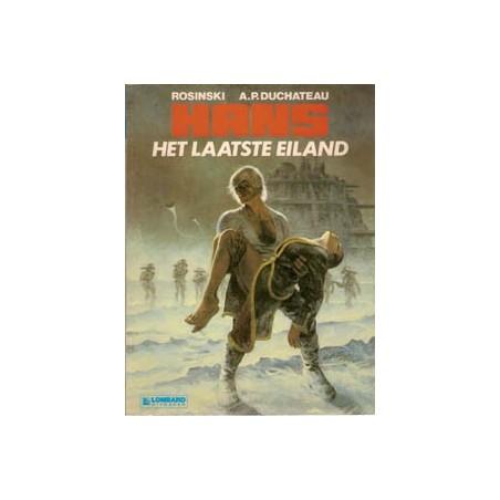 Hans 01 Het laatste eiland herdruk