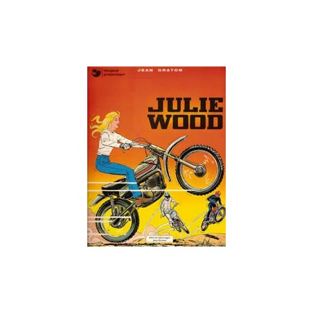 Julie Wood set deel 1 t/m 8 1e drukken 1976-1980