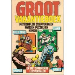 Groot Vakantieboek 2<br>Billie Turf, Sjakie, Halmar, Archie 1977