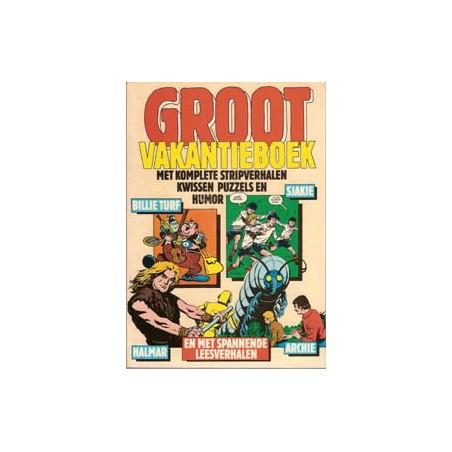 Groot Vakantieboek 2 Billie Turf, Sjakie, Halmar, Archie 1977