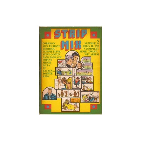 Strip mix Semic 02 1e druk 1971