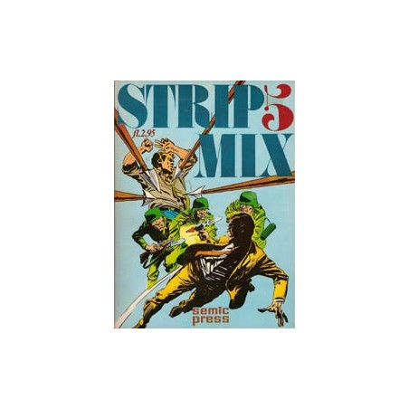 Strip mix Semic 05 1e druk 1974