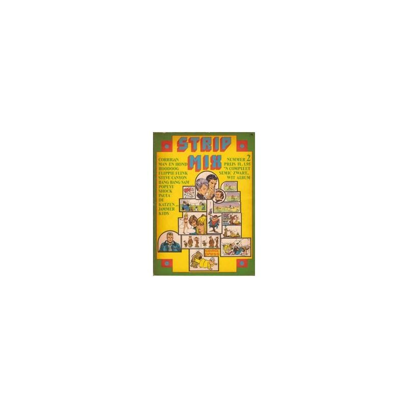 Strip mix Semic set deel 1 t/m 5 1e drukken 1970-1974