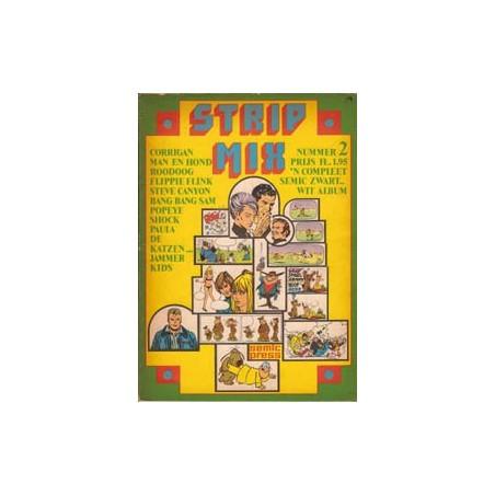 Strip mix Semic<br>set deel 1 t/m 5<br>1e drukken 1970-1974