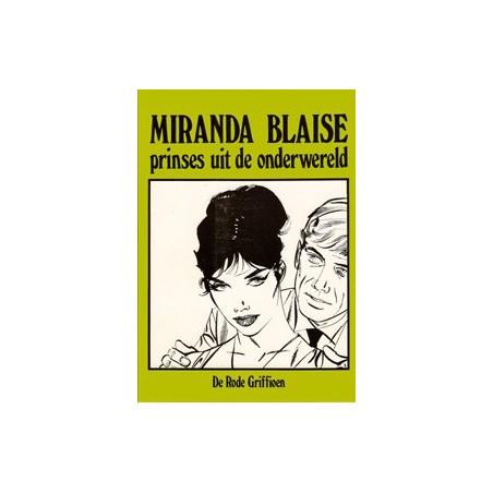 Miranda Blaise 15 De Rode griffioen 1e druk 1983