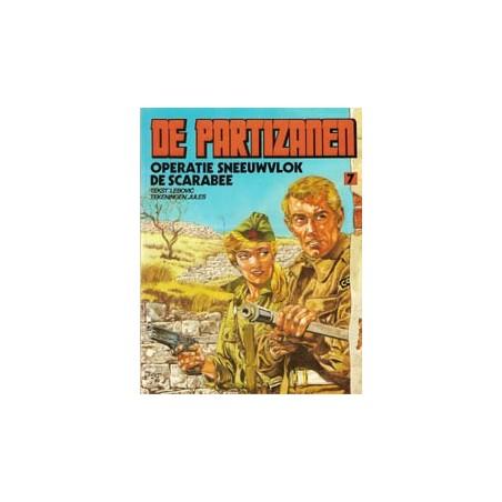 Partizanen 07<br>Operatie Sneeuwvlok/De scarabee<br>1e druk 1989
