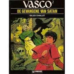 Vasco 02 De gevangene van Satan 1e druk 1984