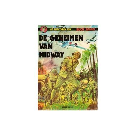 Buck Danny 02 De geheimen van Midway herdruk 1966