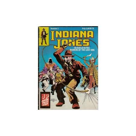 Indiana Jones 01 Verdere avonturen 1e druk 1982