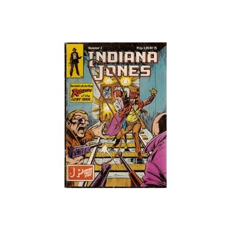 Indiana Jones 02 Het oerkristal 1e druk 1983