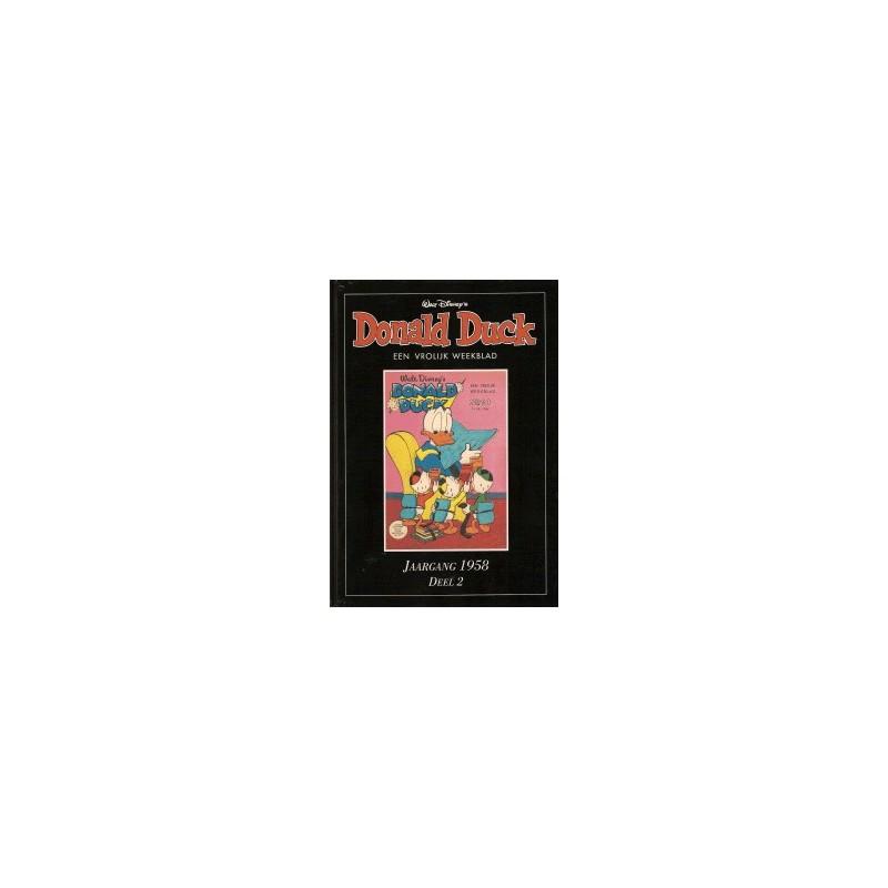 Donald Duck Jaargang 1958 set van 2 delen HC