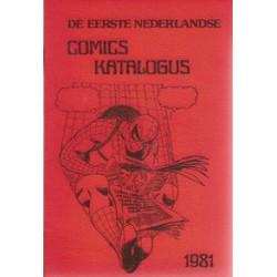 Comics Katalogus 01 1981