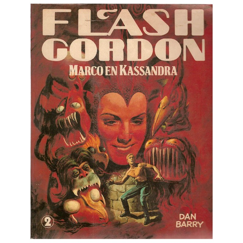 Flash Gordon Ob02 Marco en Kassandra 1e druk 1981