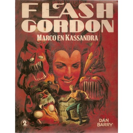 Flash Gordon Ob02<br>Marco en Kassandra<br>1e druk 1981
