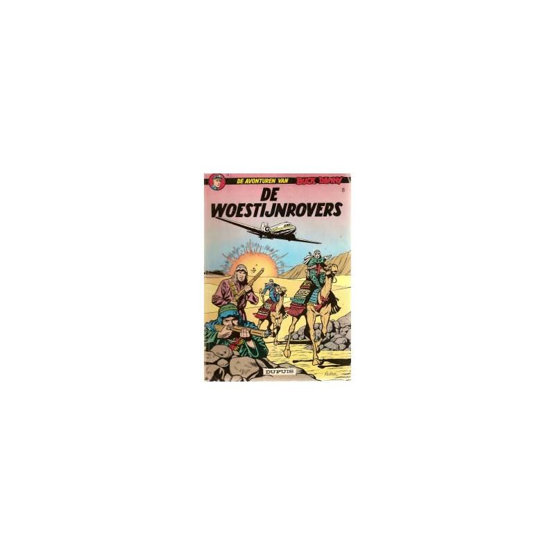 Buck Danny 08 De woestijnrovers herdruk 1966