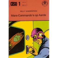 Ciso 01 Mars-Commando's op aarde herdruk