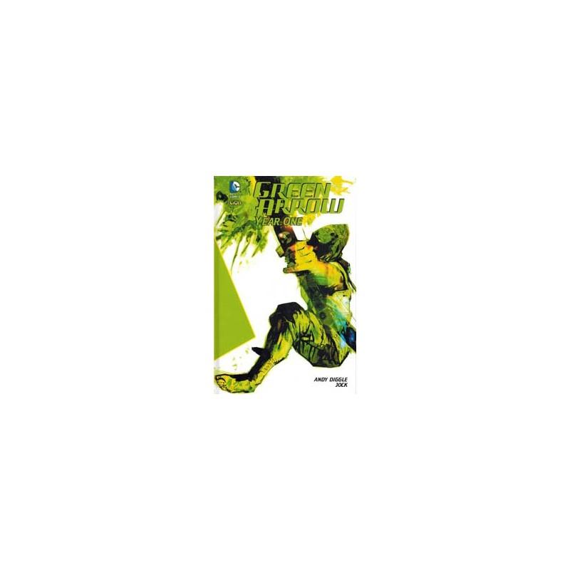 Green Arrow NL HC Year one