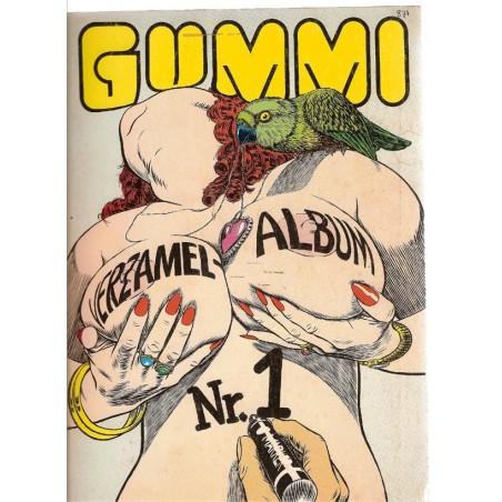 Gummi Verzamel-album 01 1e druk 1978 nummer 1-4