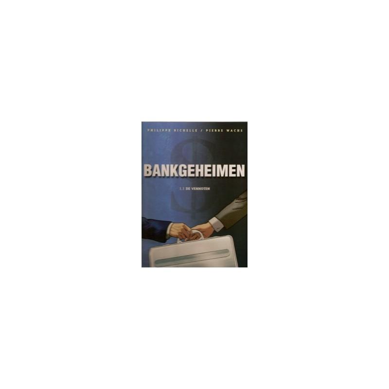 Bankgeheimen set deel 1 t/m 8 HC 1e drukken 2006-2009