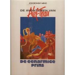 Alef Thau<br>02 De eenarmige prins HC<br>1e druk 1985