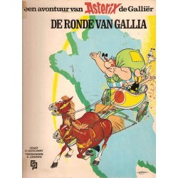 Asterix 05 De ronde van Gallia 1e druk 1968