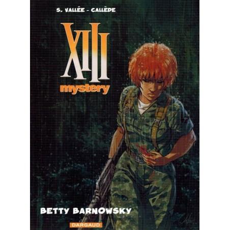 XIII  Mystery HC 07 Betty Barnowsky