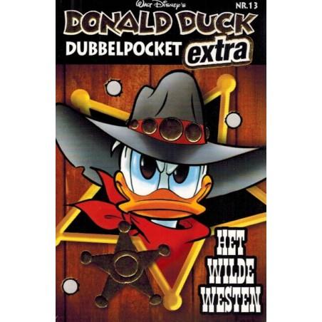 Donald Duck  dubbel pocket Extra 13 Het Wilde Westen