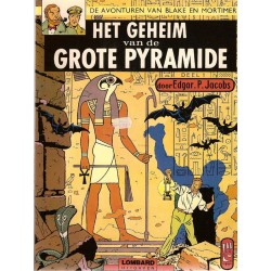 Blake & Mortimer setje Geheim van de Grote Pyramide 1 & 2 herdrukken Lombard