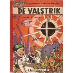 Blake & Mortimer L08 De valstrik 1e druk 1962 Geillustreerde Pers