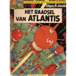 Blake & Mortimer L06 Het raadsel van Atlantis herdruk Helmond rond 1974